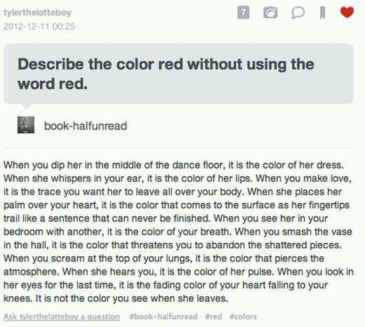 Describe the color red without using the word red. http://t.co/MBGkucnrv4