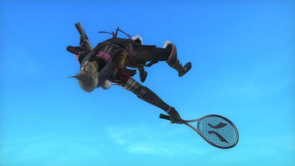 【PS3『戦国BASARA4』】プレイステーション3専用ソフト「戦国BASARA4」好評発売中!発売記念特別画像公開! テニスの凶王様 #BASARA_CAPCOM http://t.co/8t24E4wu3w