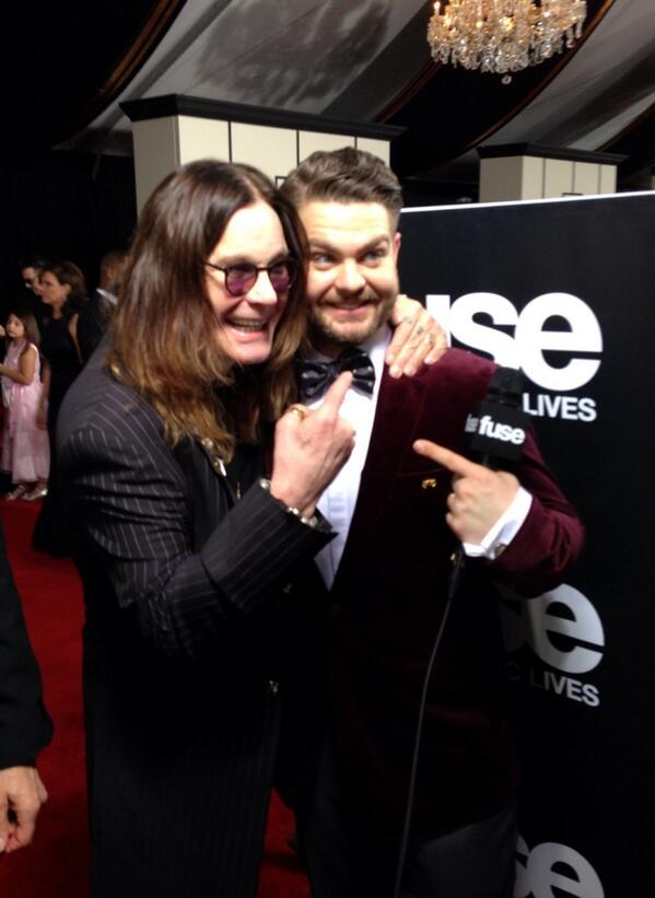 .@TheGRAMMYs award winner right here @OfficialOzzy! #GRAMMYs http://t.co/AYO3v8t4ib