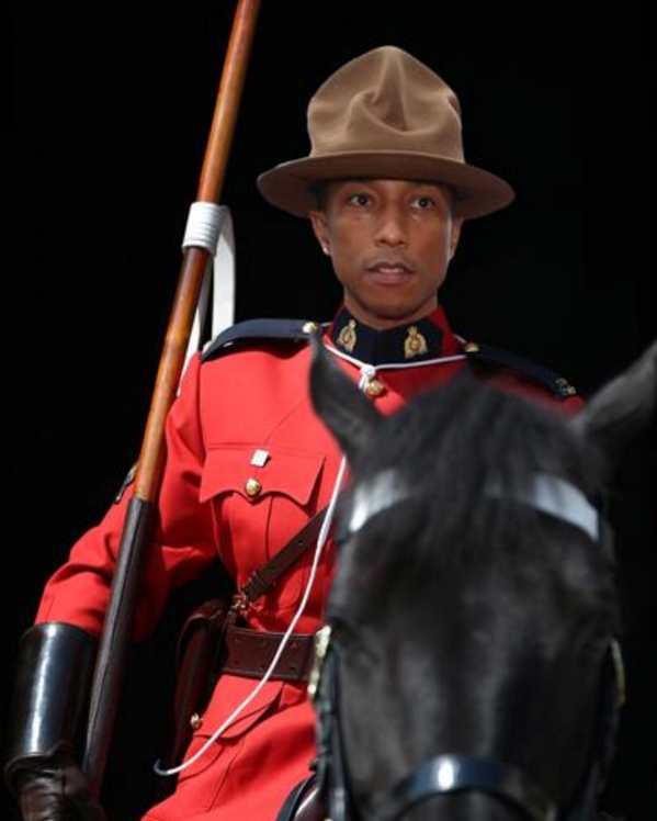 Chapeau canadien Pharrell Williams