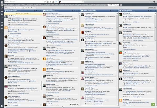 """""""@eLMformacion: ¿Que os parece @hootsuite para seguir todo el @eduPLEmooc en Twitter? #eduPLEmooc http://t.co/R3PYNWPwSR"""" #recomendado"""