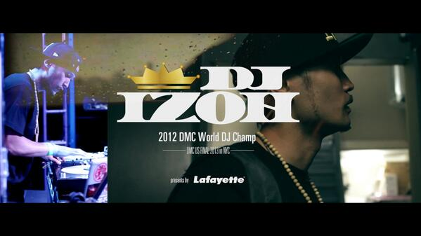 DJ IZOH in NYC for DMC US FINAL 2013-Supported by Lafayette  http://t.co/0fufo88w4y  @DJ_IZOH http://t.co/aE4FznAbnQ http://t.co/BGfZPOqCaA