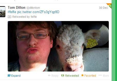 Keep getting asked when I started @felfie_ well it was 30th dec 13 and this was the first #felfie http://t.co/roBm76nprk