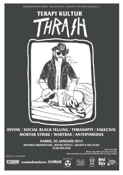 TERAPI KULTUR THRASH. Check the flyer & spread it for more information \m/ http://t.co/EbONUu4Rbn