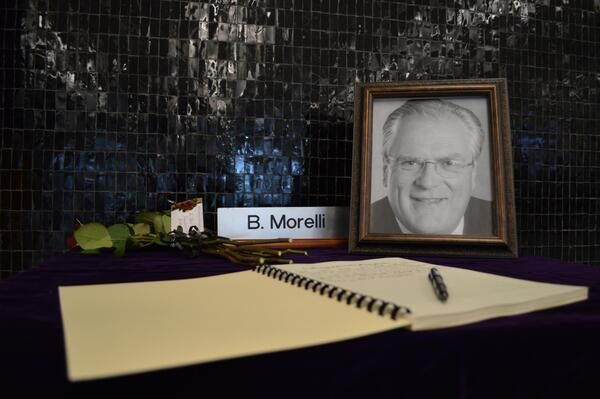 Book of Condolences for Bernie Morelli at City Hall (Image Credit: City of Hamilton)