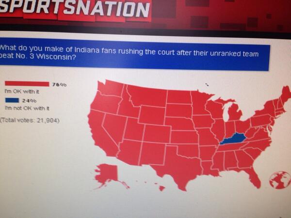 Hilarious. #iubb. RT @TWalkerRivals This poll makes me laugh. Way to go guys. http://t.co/mI6aozvCjB