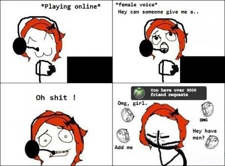 Girl Gamer Problems http://t.co/ADToc8hMXR