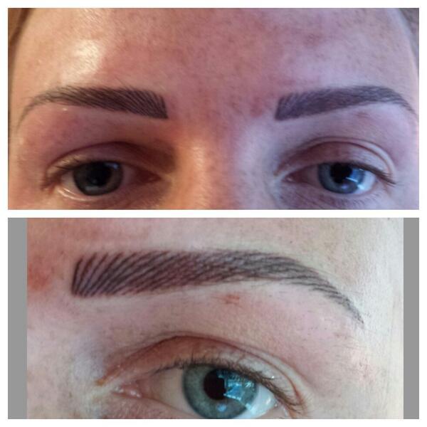 Michelle Louise Spmu On Twitter Hairstroke Eyebrow Tattoo 150