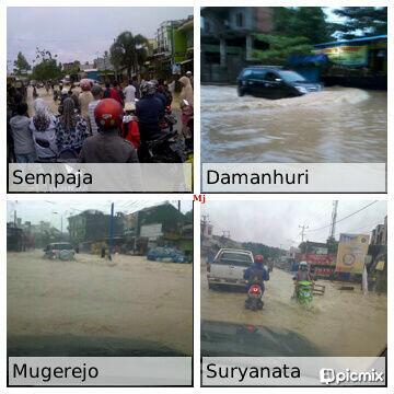 FOTO2 Banjir Pagi ini di Kota #Samarinda (16-01-2014) http://t.co/nx0PP19NM6 | @mj_indonesia666