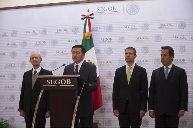 Presentación de Alfredo Castillo Cervantes, como Comisionado del Gobierno Federal en Michoacán