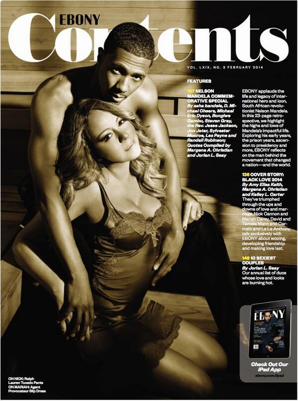 Mariah Carey and Nick Cannon Ebony magazine pics ...