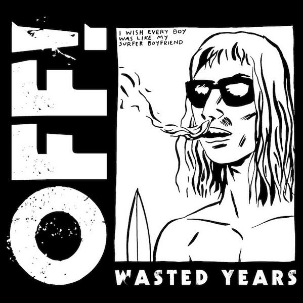 Get ready for 'Wasted Years' on April 8th! Artwork by @RaymondPettibon @VICERECORDS http://t.co/4N2p1u9pm0