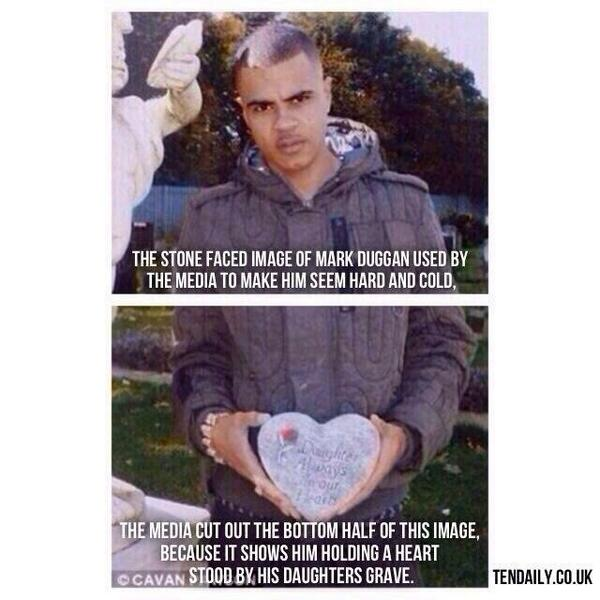 The truth of the image used to vilify #MarkDuggan in #UKmedia. Thank you @_SteveBartlett. http://t.co/QCAHRyMiGn