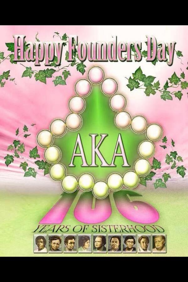 Happy Founder's Day to the phenomenal women of #AlphaKappaAlpha Sorority, Inc.!  #AKA106 #J15 #SkeeWeeSorors http://t.co/tCh8UWHWII