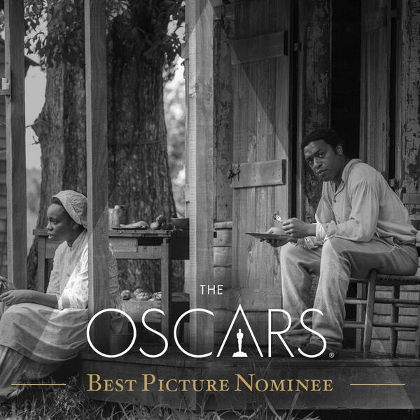 Congrats to 12 Years A Slave! #OscarNoms http://t.co/wbsSdUymfv