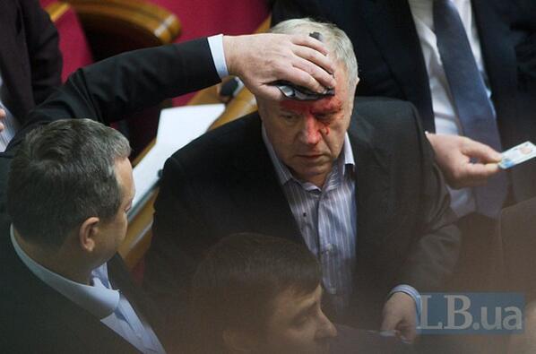 С.Кубива избили в ВР
