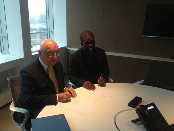 Зеедорф подписал контракт с «Миланом»