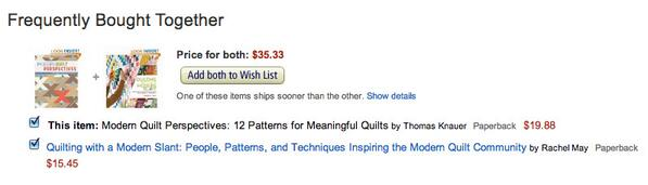 Neither are for sale yet, but they are frequently bought together. Yay books!!! @RachelSMay http://t.co/hUTpVz6fwc
