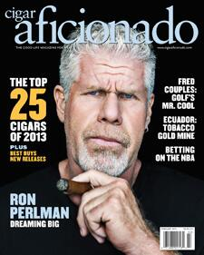 Our newest issue features actor Ron Perlman @perlmutations . This guy really loves his cigars. On newsstands now. http://t.co/nYUGuXvFeD