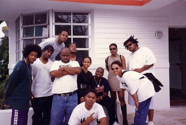 #tbt Outkast, Goodie Mobb, Society of Soul and The Hip-Hop Professional! #Miami #PromoVisit #TheBox @GippGoodie http://t.co/3UiNYNTOtx