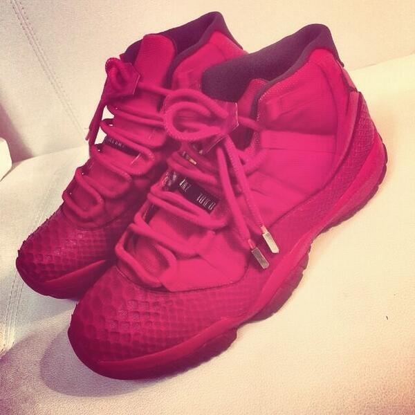 "!!! RT @PureDopeKicks: Air Jordan 11 ""Red October Yeezy inspired""Retweet if your feeling them http://t.co/UCsfo8IaIY"