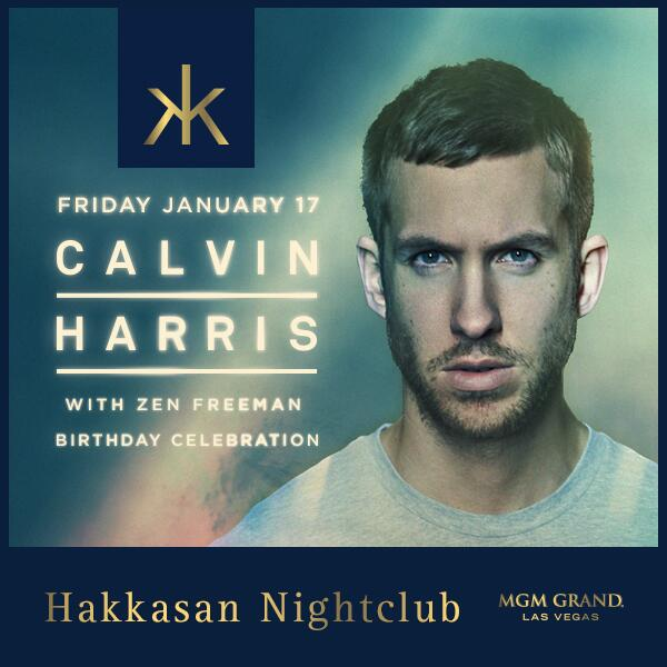 DJ-ing at @CalvinHarris's b-day party @HakkasanLV @MGMGrand this Friday night, come see what all the fuss is about :) http://t.co/aTvwZs65jY