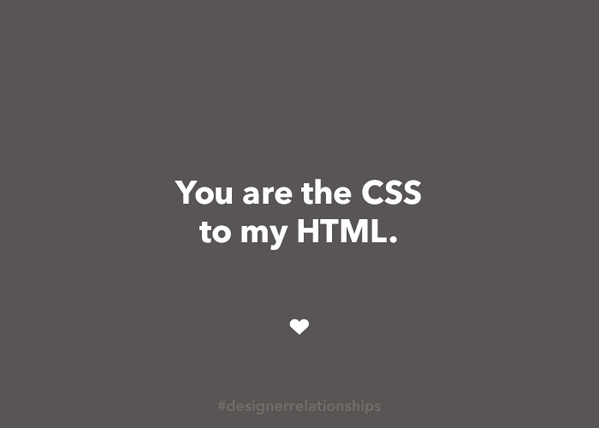 Best compliment you can do to a woman as a web designer #designerrelationships http://t.co/Zs0GuKWCCl