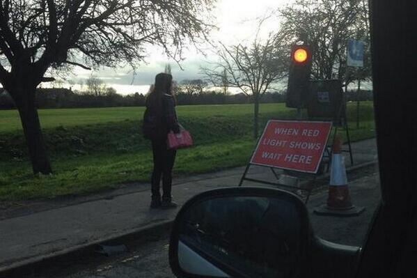 Overly obedient #Coventry pedestrian becomes an international online sensation http://t.co/8JaYBOW1Uq http://t.co/ZegjezY3JP