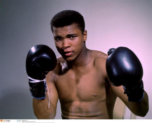 Happy Birthday to The Greatest, Muhammad Ali, who is 72 today. #GOAT #Legend #Ali http://t.co/WFaFuDNYJE