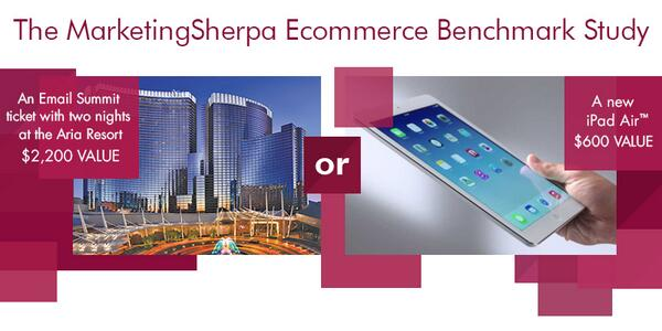 Share your E-commerce insights for a chance to win an iPad Air! http://t.co/Xo1Y5oLRpQ http://t.co/PrxQVqS09I