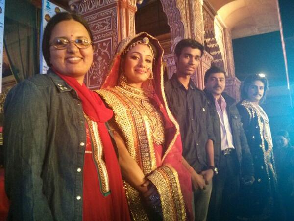 #Jodha Akbar Game launch press conference-more pic added on pg 2 &3. BeMPvLHCEAAh4in