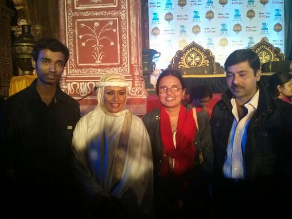 #Jodha Akbar Game launch press conference-more pic added on pg 2 &3. BeMRgbcCcAE8btb