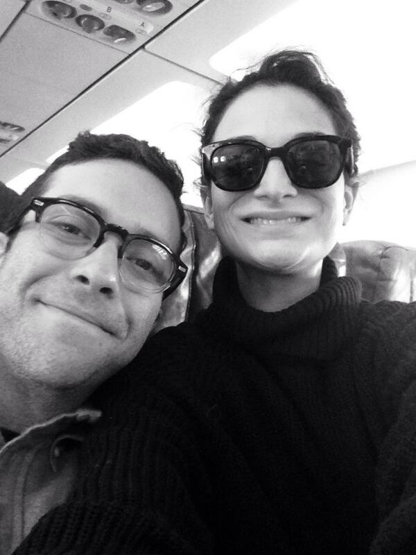Two babies headed to #Sundance! Very very very excited! @gabeliedman& I are on the way! @jennyslate http://t.co/YsUnZXyGDo