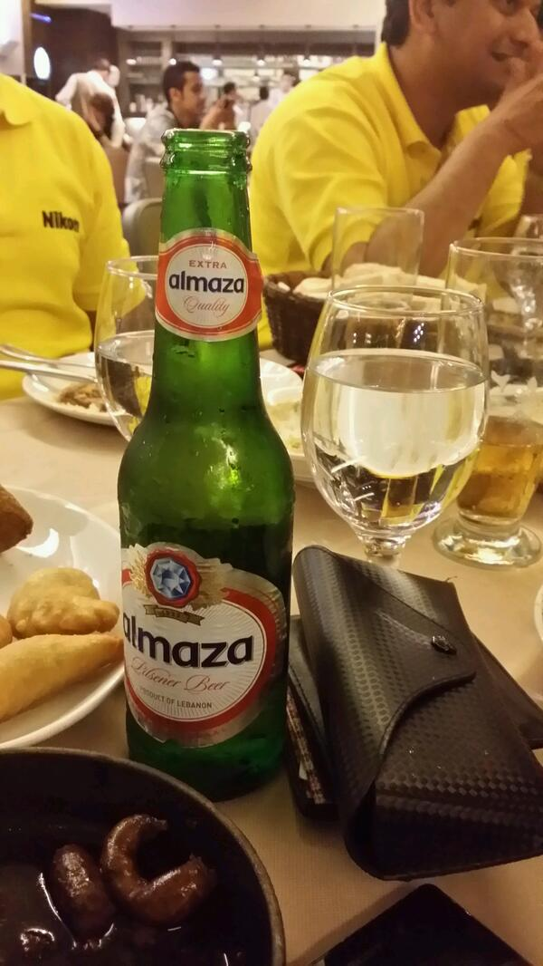 Nikon evening with almaza Beer http://t.co/m9lgLIDlsI