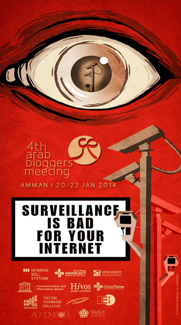 Surveillance Is Bad For Your Internet - Check out our awesome poster from upcoming #ab14 (http://t.co/xCz2SIJTuG) http://t.co/IpIGVZYtyQ