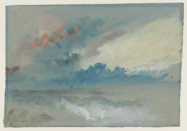 A cloudy but calm weekend, just like this Turner. Enjoy the weekend everyone!  #Tateweather http://t.co/L8NTxFQvkJ http://t.co/2XzfwAJda6