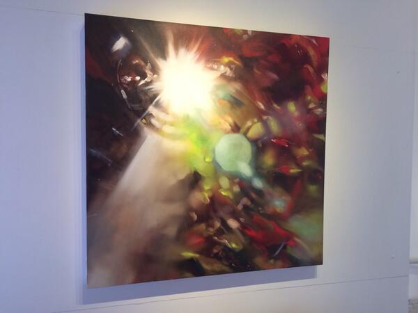 "Light, Breakthrough' 40""x40"" oil on canvas... https://t.co/gquNJ5rRI5 #art .. #painting"