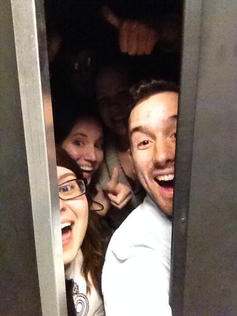 #Riccing selfie with @AndrewCassNH @AmyPopikNH @NewsHLiz @DevonTurchan in the darkroom doorway http://t.co/3WATLJEkus