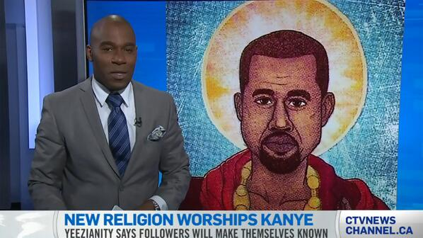 Praise Yeezus? New religion called Yeezianity believes Kanye West is God. http://t.co/EeRaZuQGpB http://t.co/GrMiUIMGoQ