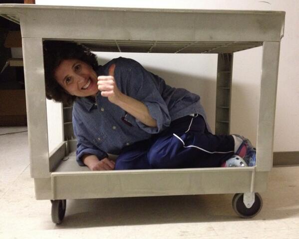 Here's @PalmerNH #Riccing in a cart http://t.co/EaICsl84qP