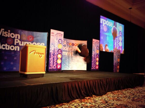 Have a vision, purpose and follow through w/ action. @DanThurmon sure did w/ this flip! #NEAsummit http://t.co/TNd6aokQMQ