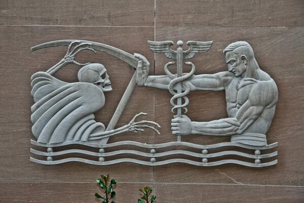 Love this art deco frieze - Fulton County dept. of Health (Georgia) http://t.co/MPKQagxMsC