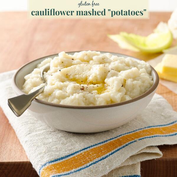 Skip starchy mashed potatoes in favor of this nutrient-dense cauliflower mash. #glutenfree http://t.co/BvX7VZaVRq http://t.co/Eq1KnXuATv