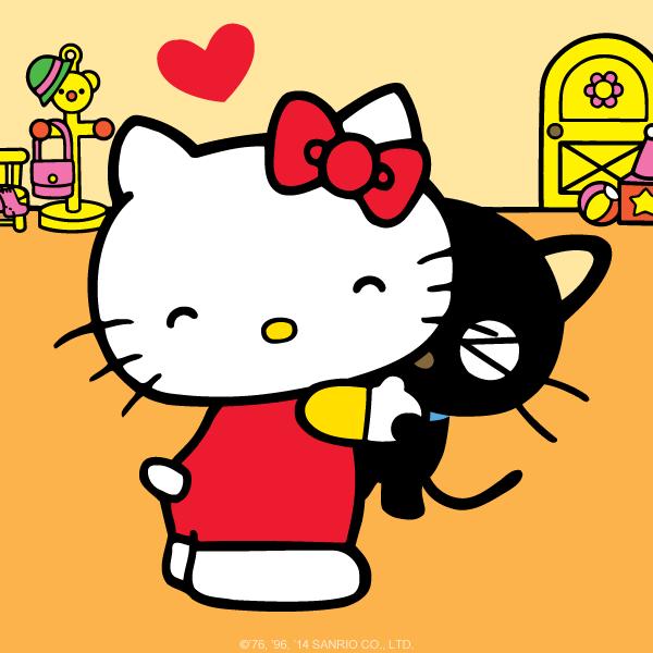 2d14574f3 #Chococat and @HelloKitty share a hug!  #HelloKittyHugspic.twitter.com/YmTj4M97QX