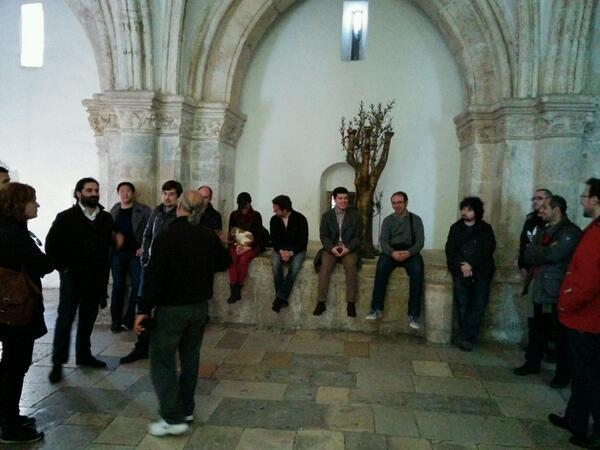 Lugar de la Ultima Cena con los ganadores del #EmprendeXXI. Quien es el Judas? http://t.co/MmIGOmp0QH
