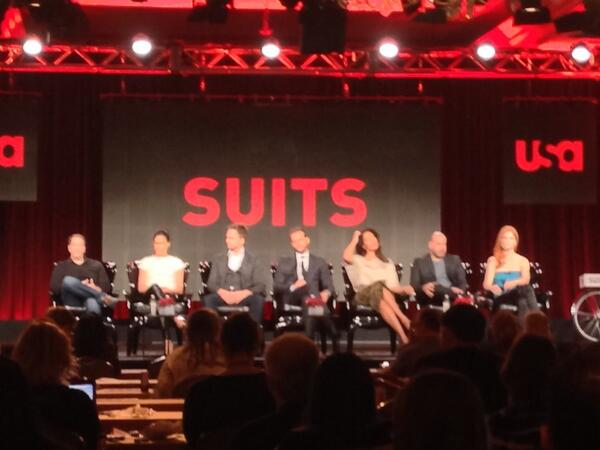 #suits on stage at TCA http://t.co/3xBUANydUy