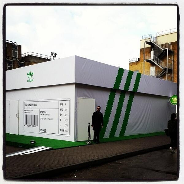 """Adidas Shoebox Shop londonpopups on twitter: """"final day for the adidas 'shoebox"""