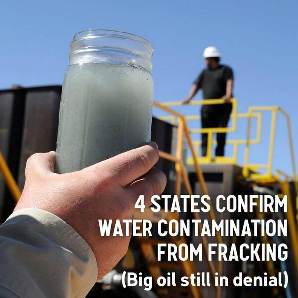 Four states confirm water contamination from #fracking http://t.co/20ii11uYFP http://t.co/RaSm6sGxHp
