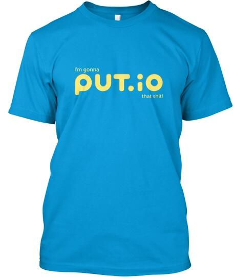 First ever put.io tees! Don't miss it! (Giving this crowdfunded t-shirt thing a try) http://t.co/kq8CwDtzgN http://t.co/YPQTS7dXx4