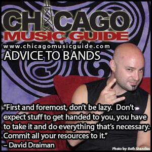 "ADVICE TO BANDS: ""...Don't expect stuff to get handed to you, you have to take it..."" – @DAVIDMDRAIMAN #CHICAGOMUSIC http://t.co/AXrmr2TcwN"